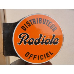 PLAQUE EMAILLEE RADIOLA