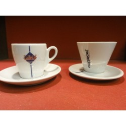 2 TASSES A CAFE CAFFECEL EXPRESSO