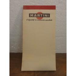 1 CARNET MARTINI