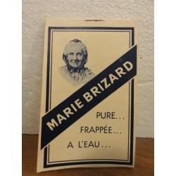 1 CARNET MARIE BRIZARD