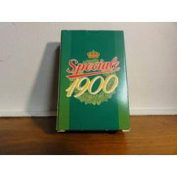 1 JEU DE 52 CARTES SPECIALE 1900