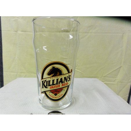 2 VERRES GEORGE KILLIAN'S 50CL