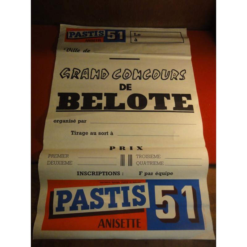 AFFICHE  PASTIS 51