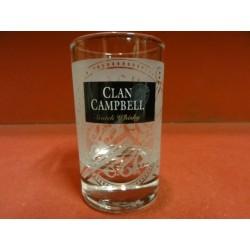 6 VERRES BABY CLAN CAMPBELL HT. 8.50CM