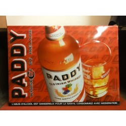 1 TOLE WHISKY PADDY 54X39CM