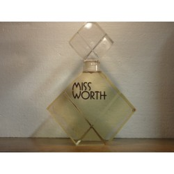 FLACON DE PARFUM MISS WORTH FACTICE