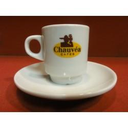 6 TASSES A CAFE CHAUVEA