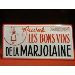 1 TOLE LES BONS VINS DE LA MARJOLAINE