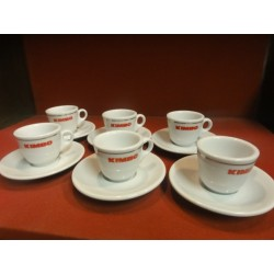 6 TASSES A CAFE KIMBO OCCASION
