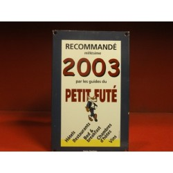 PLAQUE EMAILLEE LES GUIDES DU PETIT FUTE 2003
