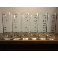 6 VERRES VODKA VERTICAL 22CL