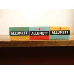 3 BOITES D'ALUMETTES  VEDETT COLLECTOR