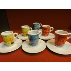 6 TASSES A CAFE KIMBO COLLECTOR