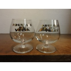 2 VERRES PRUNELLE DU VELAY 8CL