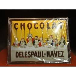 1 TOLE CHOCOLAT DELESPAUL-HAVEZ