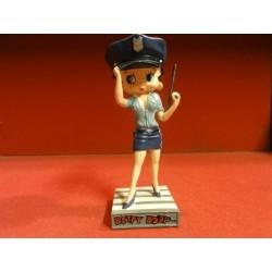 FIGURINE BETTY BOOP AGENT DE POLICE