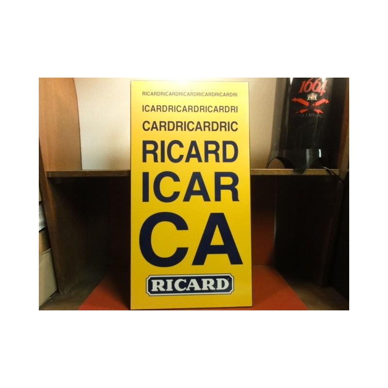 1 PLAQUE  OPHTALMO RICARD