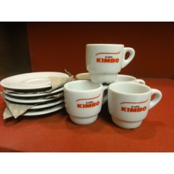 5 TASSES A CAFE KIMBO