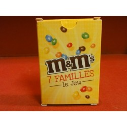 1 JEUX DE 7 FAMILLE M&M'S