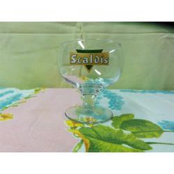 1 mini verre scaldis ht 8,80cm