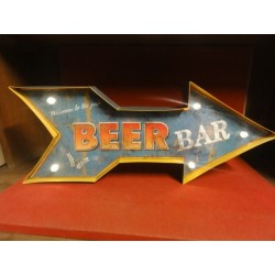 ENSEIGNE  BEER BAR