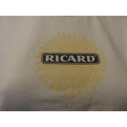1 TEE SHIRT RICARD BLANC