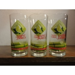 3 VERRES MOJITO IMPERIAL SAINT JAMES 25CL