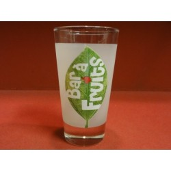 6 VERRES  BAR A FRUITS TROPICO HT. 13.40CM