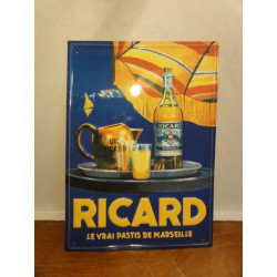 1 TOLE RICARD EMBOUTIE