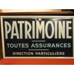 TOLE  ASSURANCE  LE PATRIMOINE