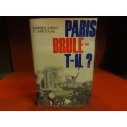 1 LIVRE  PARIS BRULE-T-IL 449 PAGES