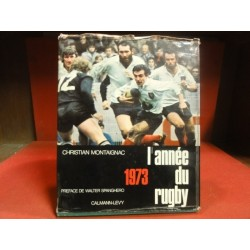 1 LIVRE L'ANNEE DU RUGBY 1973