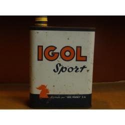 BIDON HUILE IGOL SPORT N° 2