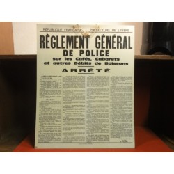 REGLEMENT DE POLICE  PREFECTURE DE L'ISERE