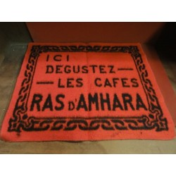 TAPIS DE CARTES RAS D'AMHARA 56CM 47CM