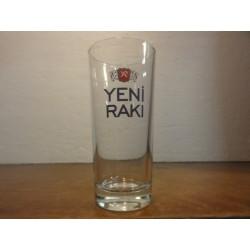 1 VERRE PASTIS YENI RAKI HT. 12.30CM