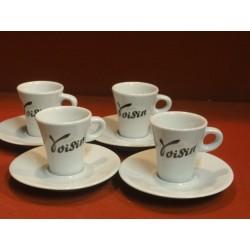 4 TASSES A CAFE VOISIN