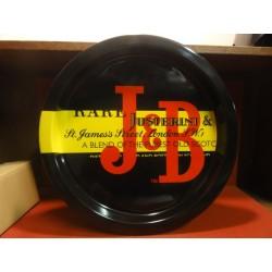 PLATEAU J&B  DIAMETRE 34CM