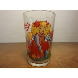 1 VERRE A MOUTARDE  CANDY  1976 HT. 9.80CM
