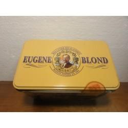 1 BOITE  BISCUIT EUGENE BLOND 17X10X12