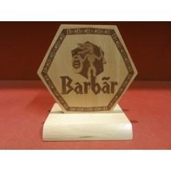 1 PORTE SOUS BOCK BARBAR 12CM X9.50CM
