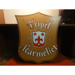 PLAQUE TRIPEL KARMELIET 50X36
