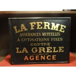 1 TOLE ASSURANCE  LA FERME 42CM X33CM