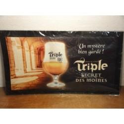 TAPIS DE BAR TRIPLES SECRET DES MOINES