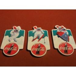 3 MAGNETS COCA-COLA