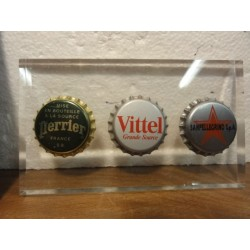 1 COLLECTOR L'ALLIANCE  DE PERRIER VITTEL SANPELLEGRINO