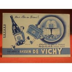 BUVARD  BASSIN DE VICHY  21X13.50
