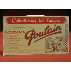 1 BUVARD CHOCOLAT POULAIN  22X12.50
