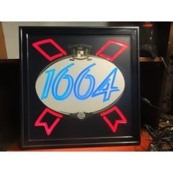 ENSEIGNE 1664  KRONENBOURG 50CM X50CM
