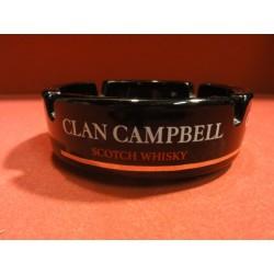 1 CENDRIER CLAN CAMPBELL EN OPALINE